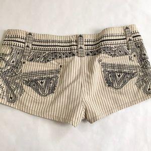 Topshop Shorts - 5/$20 Topshop Kate Moss 10 Short Shorts tan black